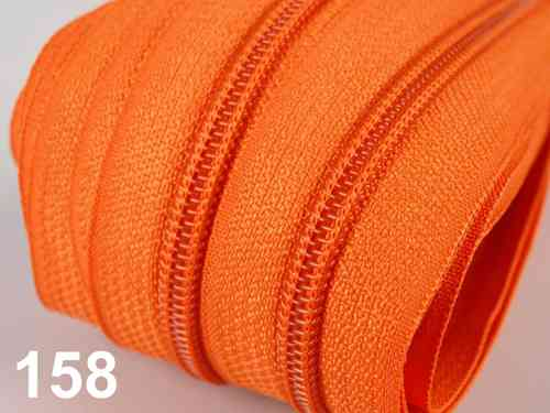fermeture au metre orange 5 mm