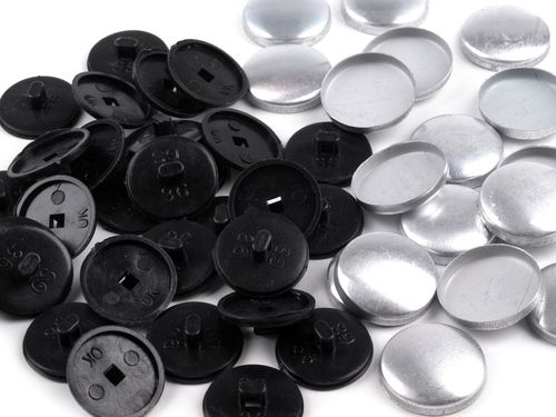 100 Boutons a recouvrir 17 mm