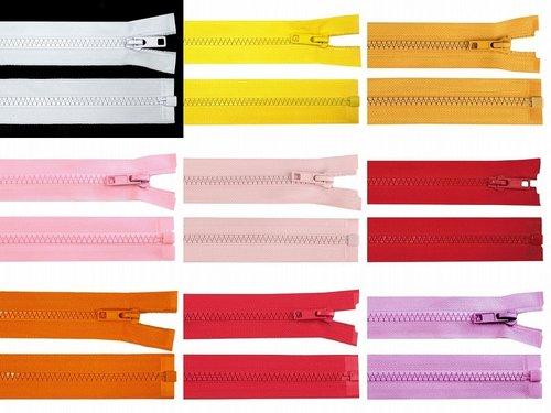 Fermeture /à glissi/ère de Couture de 10 pi/èces//Paquet pour Le Bricolage sur Mesure Couleurs Noir Blanc Leekayer 30CM Fermetures /à glissi/ère en Nylon de 12 Pouces 12, 3#